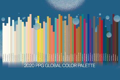 2020PPG年度色彩精选